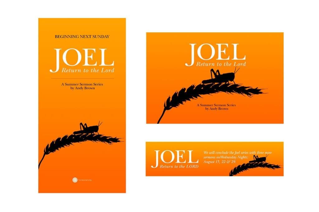 Joel sermon series
